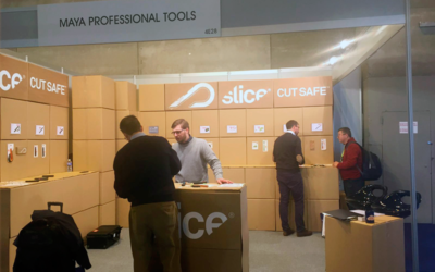 Success of Maya at SICUR 2018 with its SLICE line