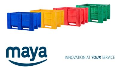 Caja Palet de alta resistencia para ganar en eficacia, eficiencia y seguridad