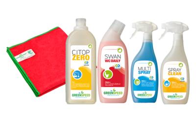 Limpia respetando el medio ambiente con Green Speed